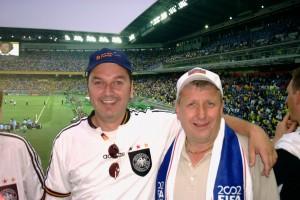 """""""Fussballexperten"""" aus dem Kreis Limburg beim WM-Endspiel 2002: Deutschland-Brasilien"""